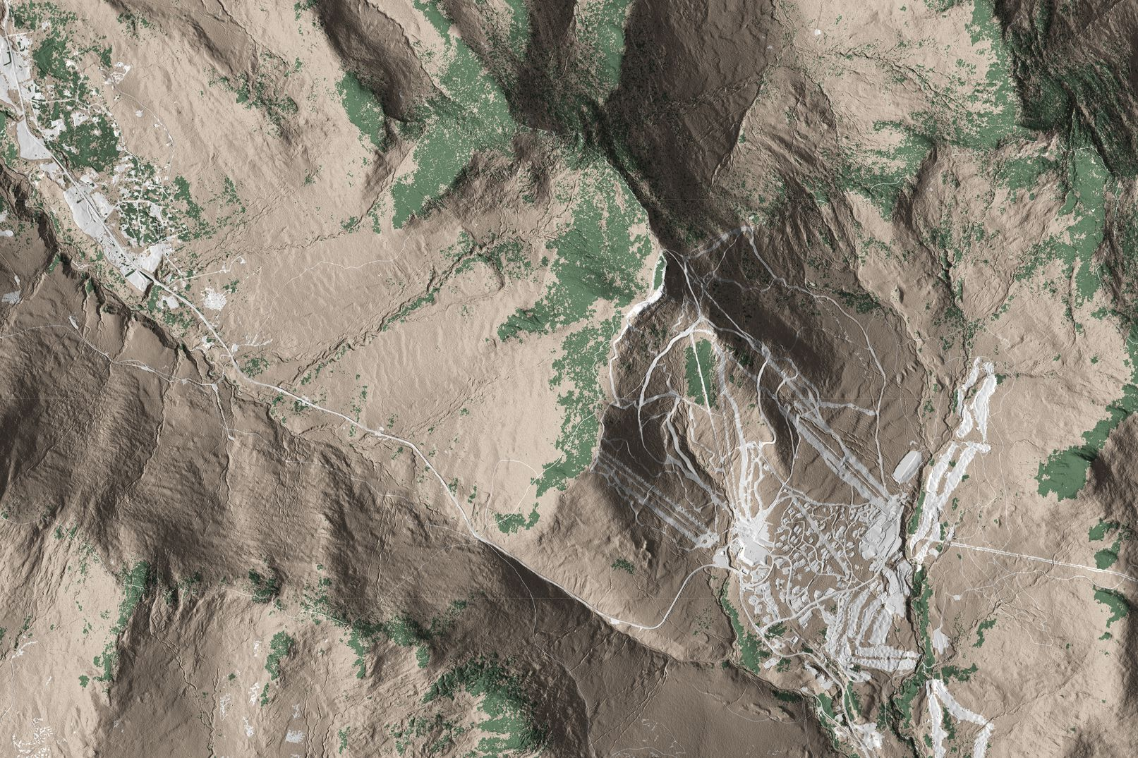 Map of Jay Peak