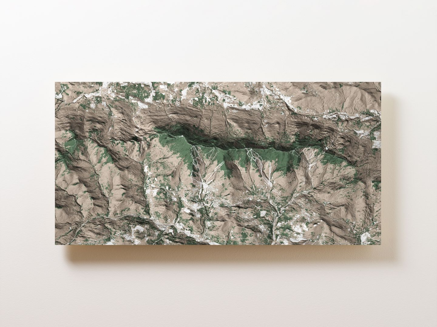 Mad River Valley Wall Map