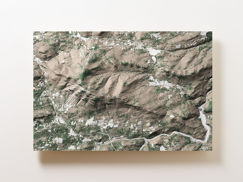 Magic Mountain Wall Map