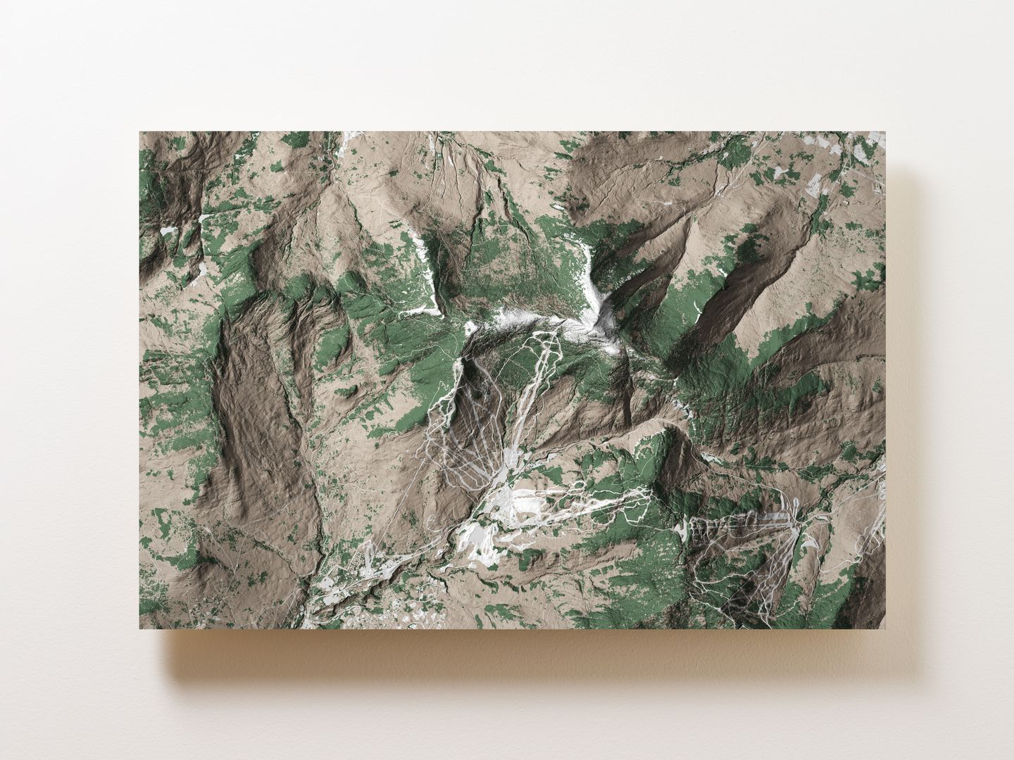 Mount Mansfield (Stowe) Wall Map